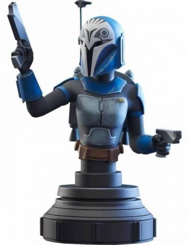 Bo-katan Kryze Mini Busto Resina 15 Cm Star Wars The Clone Wars 1/7 Scale
