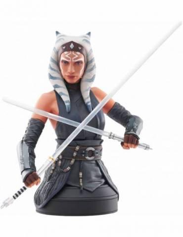 Ashoka Tano Busto Resina 18 Cm Star Wars The Mandalorian 1/6 Scale