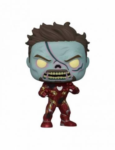 Marvel What If...? Pop! Tv Vinyl Figura Zombie Iron Man 9 Cm