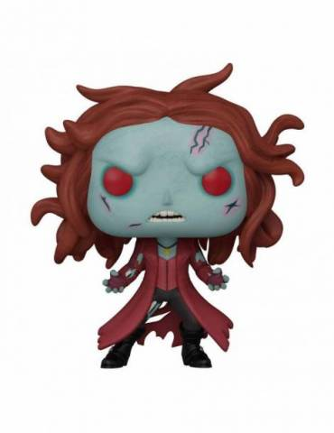 Marvel What If...? Pop! Tv Vinyl Figura Zombie Scarlet Witch 9 Cm