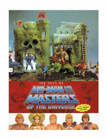 Masters Of The Universe Artbook The Toys Of He-man And The Masters Of The Universe *inglÉs*