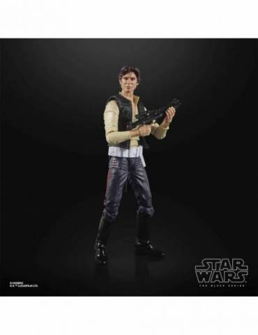 Han Solo Figura 15 Cm Star Wars The Power Of The Force Black Series F32655l0
