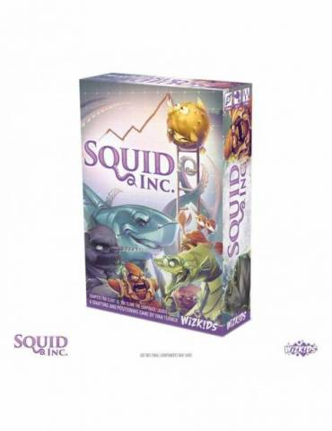 Squid Inc. Juego De Mesa *edición Inglés*