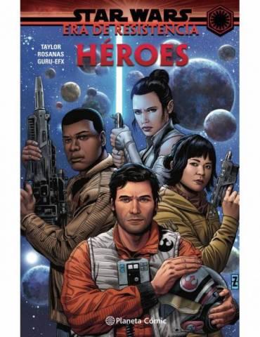 Star Wars Era De La Resistencia Heroes