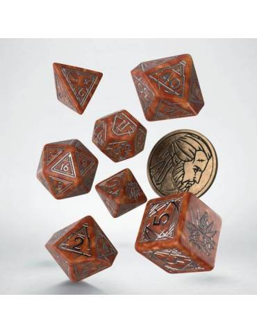 The Witcher Dice Set Geralt The Monster Slayer