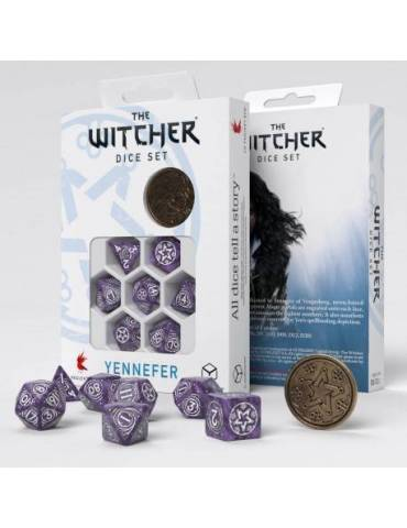 The Witcher Dice Set Yennefer Lilac And Gooseberries