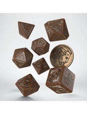 The Witcher Dice Set Geralt The Roach's Companion