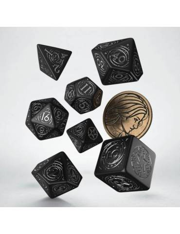 The Witcher Dice Set Yennefer The Obsidian Star