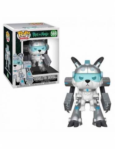 Figura Pop Rick And Morty - Serie De Tv -exoskeleton Snowball Serie 6