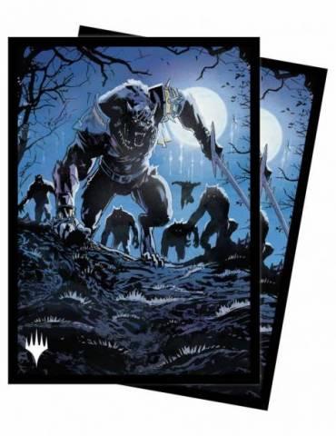 """Ultra Pro - """"set"""" Sleeves - Innistrad Midnight Hunt V5"""