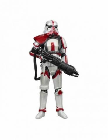 Figura Star Wars The Mandalorian Vintage Collection Carbonized 2021 Incinerator Trooper 10 cm