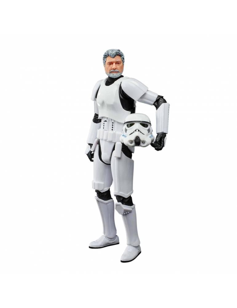 Figura Black Series Star Wars F53735l0 George Lucas Traje Stormtrooper  15 cm