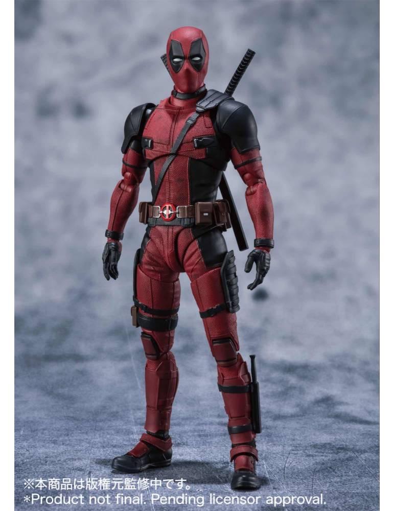 Figura Marvel Sh Figuarts Deadpool 15