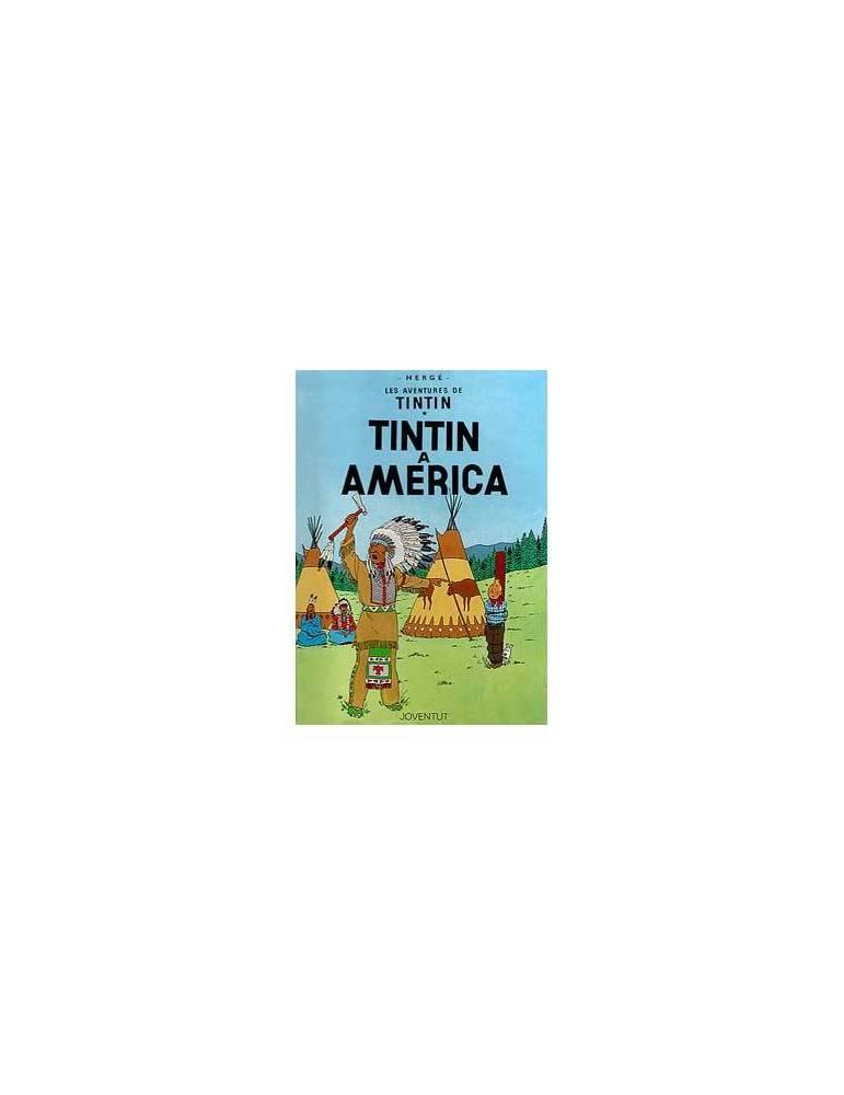 Tintin 03. Tintin A America (catalan)