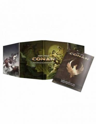 Conan: Pantalla y herramientas del DJ
