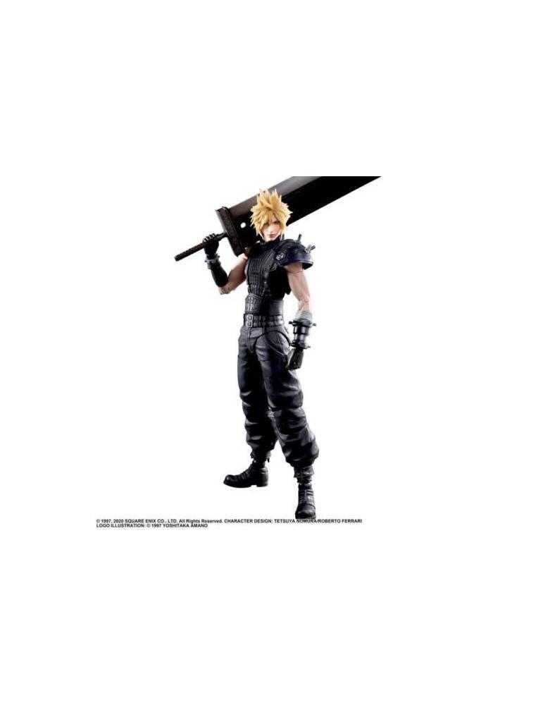 Figura Final Fantasy VII Remake: Cliud 25 cm