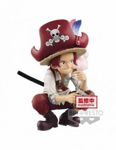 Figura One Piece Grandline Children Dxf Figure Wanokuni Vol. 1 Shanks 9 cm