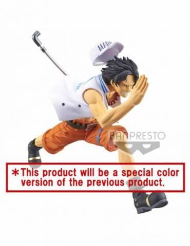 Figura One Piece Magazine A Piece Of Dream1 Portgas D. Ace Ver. Special Color 13 cm