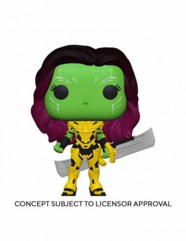 Figura ¿qué Pasaría Si...? Pop! Animation Vinyl Gamora With Blade Of Thanos 9 cm