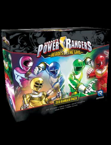 Power Rangers Heroes Of The Grid Zoe Ranger Pack
