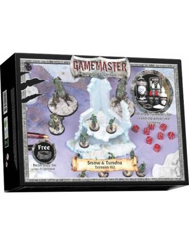 Gamemaster Snow & Tundra Terrain Kit