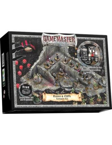 Gamemaster Ruins & Cliffs Terrain Kit