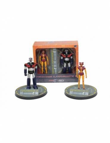 Figura Mazinger Z Mazinger Z Y Afrodita Set De Dos 18 cm