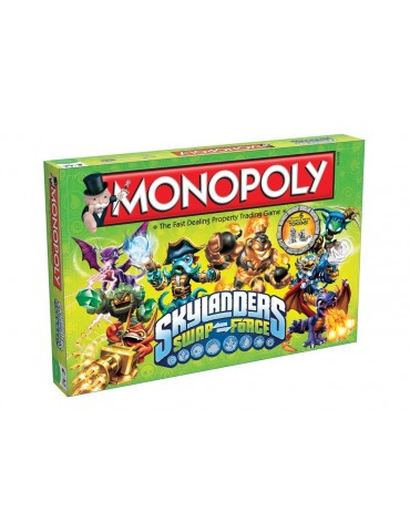 Monopoly Skylanders (Inglés)