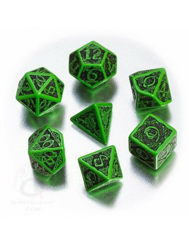Set de dados Verde / Negro...