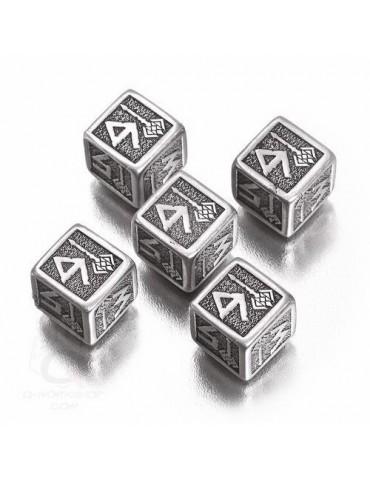 Set de dados Dwarven metal...