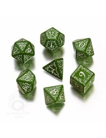 Set de dados Elven verde /...