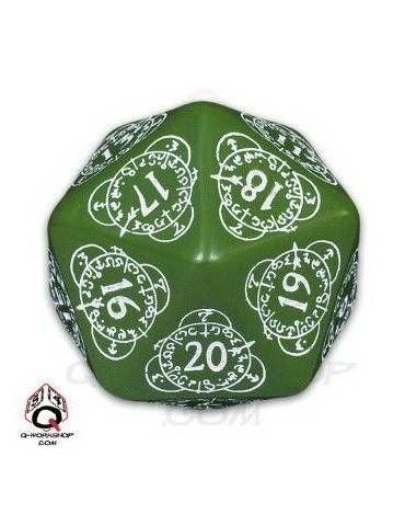 D20 verde / blanco Level...
