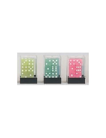 Caja de dados D6 con brillo...
