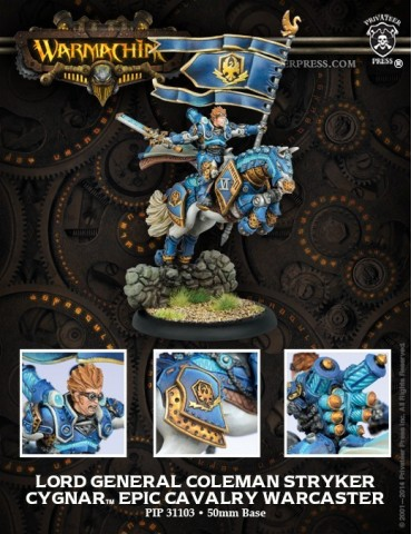 Warmachine: Cygnar - Lord...