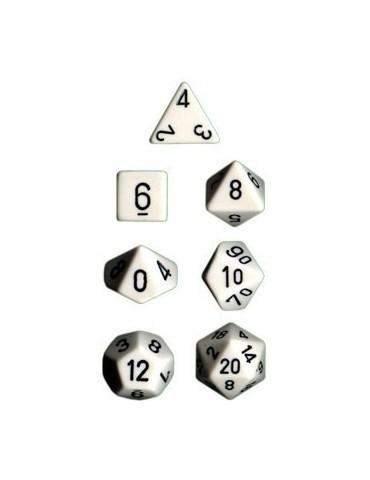 Set de dados Chessex opacos...
