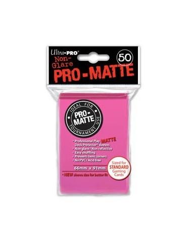 Fundas Ultra Pro mate rosa...
