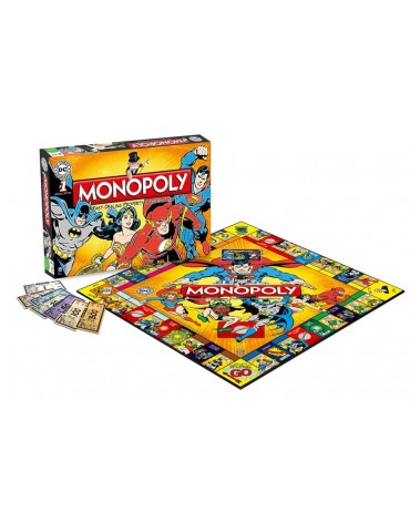 Monopoly DC Comics retro...