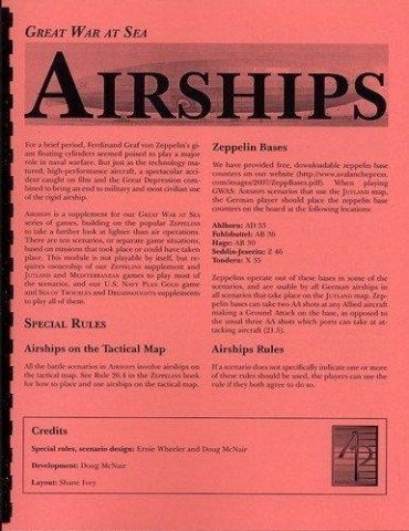 Great War at Sea: Airships