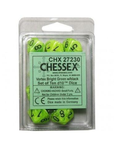 Dados Chessex 10 caras...