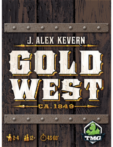 Gold West (Inglés)