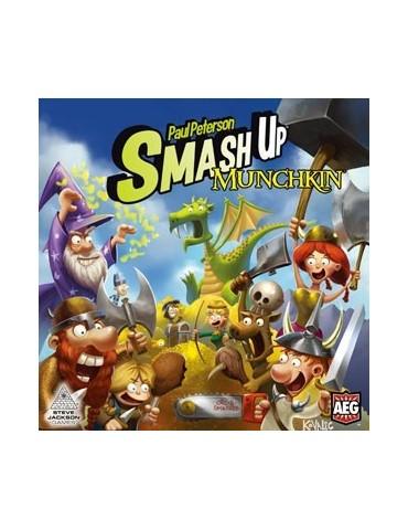 Smash Up Munchkin (Inglés)
