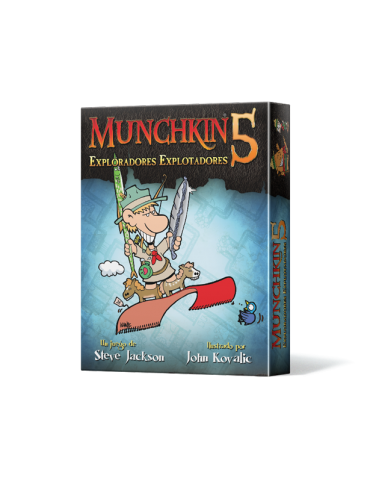 Munchkin 5: Exploradores...