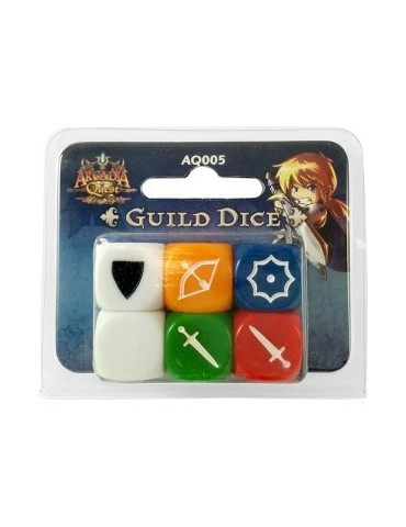 Arcadia Quest: Guild Dice Pack