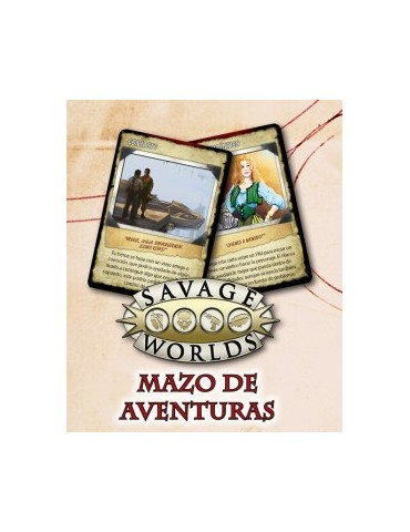 Savage Worlds: Mazo de...
