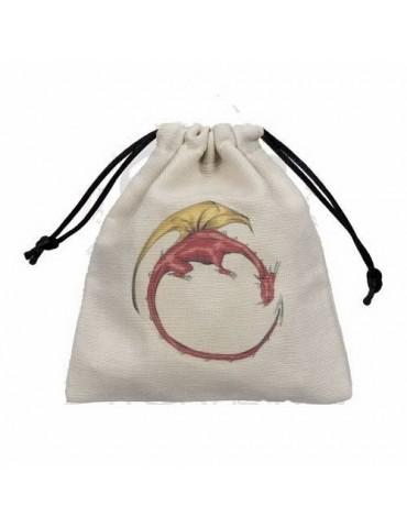 Bolsa para dados Dragón color