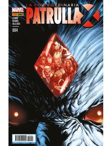 La Extraordinaria Patrulla-X 4