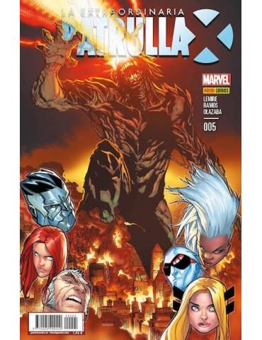 La Extraordinaria Patrulla-X 5