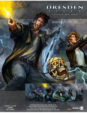 The Dresden Files: Pantalla...