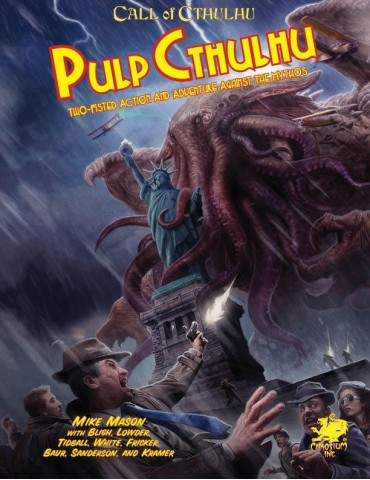 Pulp Cthulhu (Inglés)