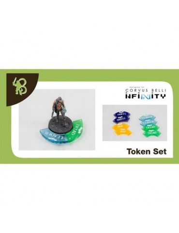 Infinity: Fire Team Token Set